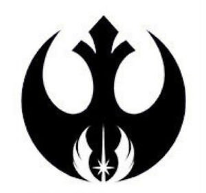 rebel alliance jedi order vinyl decal sticker star wars symbol usa