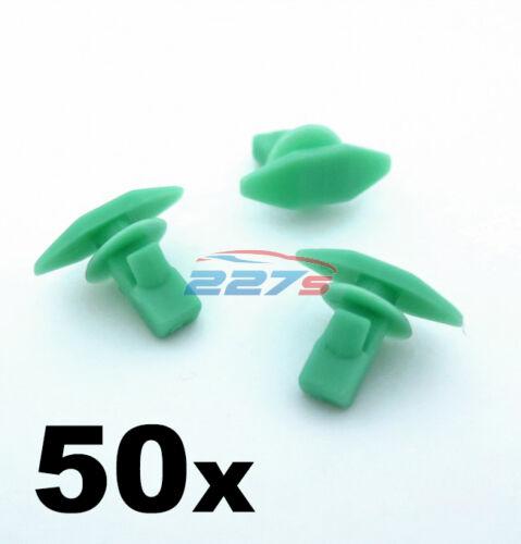 50x plástico Burlete 91568-SR2-003 Boot /& Clips de cierre de la Puerta Para Honda