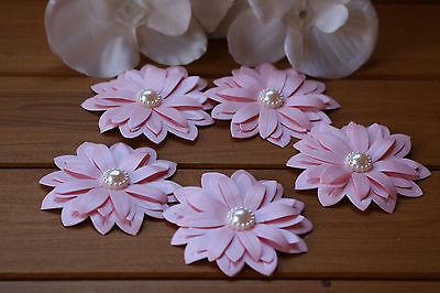 Cosciente 8 Grandi Rosa Shimmer 3d Fiore Decorazioni Matrimonio Cancelleria, Decorazioni Per-mostra Il Titolo Originale