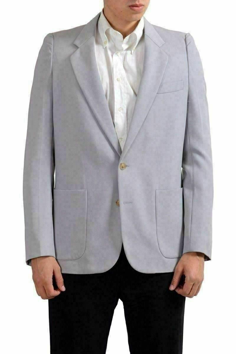 Maison Martin Margiela Men's 100% Wool Ivory Blazer Sport Coat US 38 IT 48