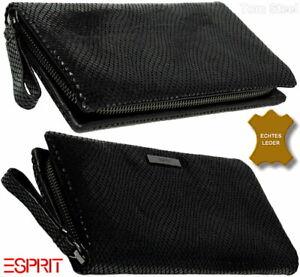 ESPRIT-Damen-Leder-Portemonnaie-Brieftasche-Geldboerse-Geldbeutel-Geldtasche-NEU