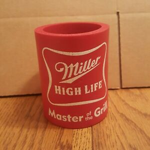 Vintage-Miller-High-Life-Can-Koozie-Master-of-the-Grill