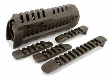 Tactical Airsoft CA Type M4S1 Picatinny Rail Polymer HandGuard (OD) For AEG GBB