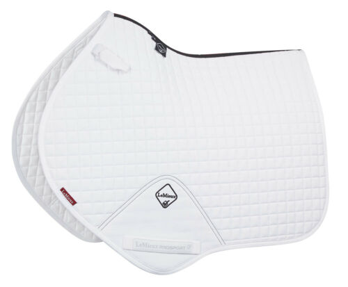 NEW Small//Medium LeMieux ProSport Cotton GP Square White
