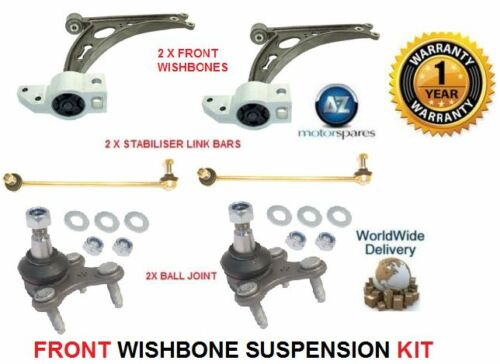 Per VW Caddy Pick-Up 04 /& GT 2 FORCELLA armi 2 barre di collegamento 2 balljoint kit di sospensione