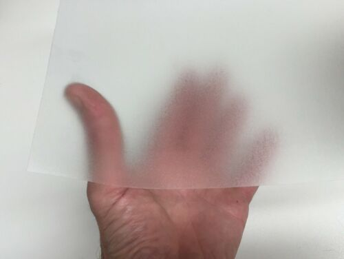 with Adhesive Transparent Colored Vinyl Plastic Sheets pick your color /& size