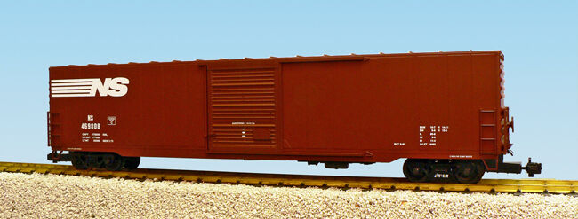 USA Trains G Scale 60 Ft Single Door Box Car R19417A  Norfolk Southern