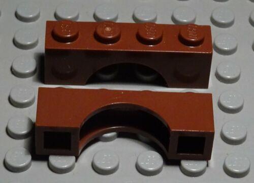 Lego Pierre Cintre 1x4x1 New marron 2 Pièce 2801