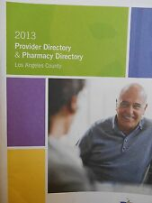 SCAN Health Plan Provider & Pharmacy Directory 2013 new