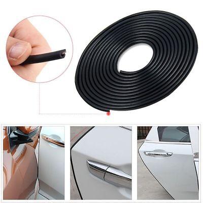 2.5 m Black Car Air Vent Grille Switch Door Edge Guard Rim Trim Strip Moulding