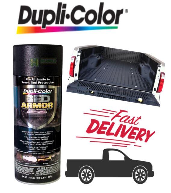 Dupli Color Diy Bed Armor Bed Liner Protector Black Spray Paint