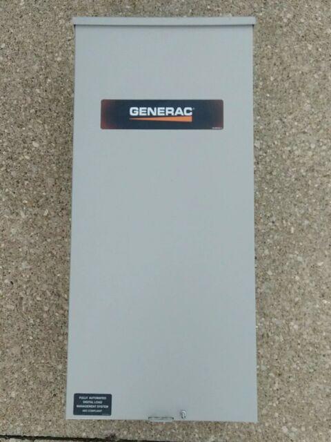 Generac Rtsn200a3 Rts Automatic Transfer Switch 200amps