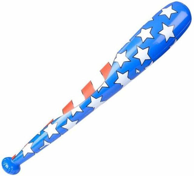 Blow up Inflatable Baseball Bat 85cm Fancy Sports Party Accessory Decoration Bat