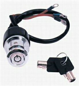 premium 3 position round key ignition switch harley. Black Bedroom Furniture Sets. Home Design Ideas