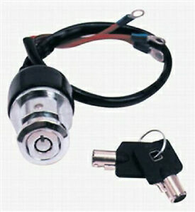 Premium 3 Position Round Key Ignition Switch for Harley ...