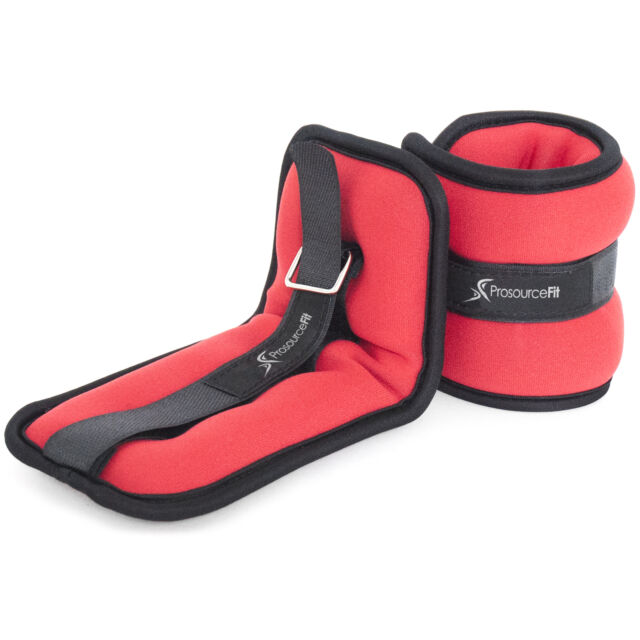 ProSource Ankle Wrist Weights Set of 2 Adjustable Comfort Fit 1 to 5 LB for for sale online