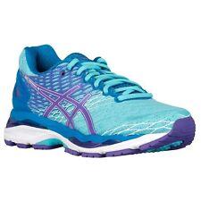 Asics Gel-Nimbus 18 Women's Running Shoes Turquoise Purple  - Size 7
