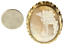 """thumbnail 4 - Antique Bible  GF Gold filled Rebecca by The Well Cameo Brooch Pin Victorian 2"""""""