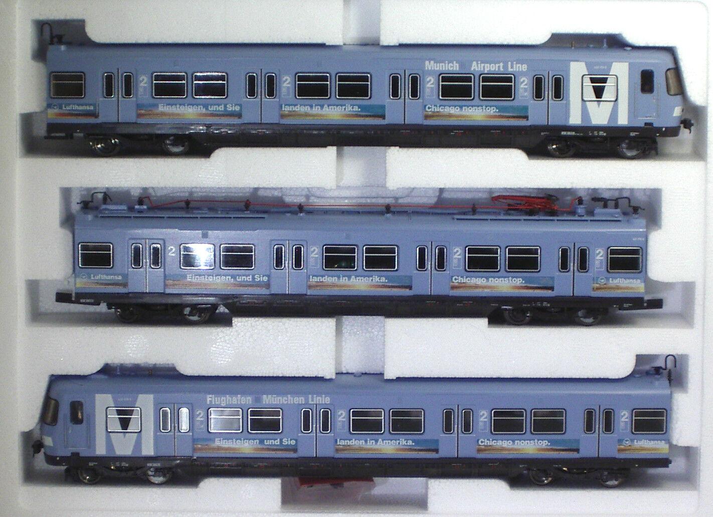 ROCO 63008 DB 420/421 Flughafen München Linie Ep V