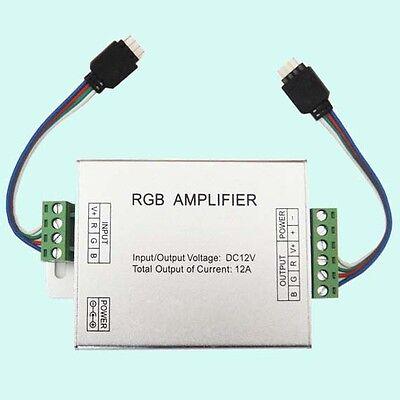 12V 12A RGB Signal Amplifier For 3528\5050 RGB Led strip Lights High Quality DIY