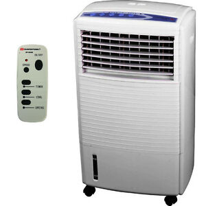 Portable-Air-Cooler-Evaporative-Swamp-Fan-Humidifier-Conditioner-Unit-amp-Remote