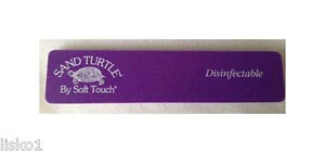 Image Is Loading Soft Touch Sand Turtle Nail Files Purple Fine