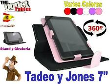 """FUNDA PARA TABLET TADEO Y JONES 7"""" PULGADAS UNIVERSAL I-joy ijoi ijoy"""