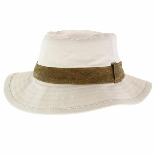 Cream Cancer Council Canvas Boonie Slouch Hat