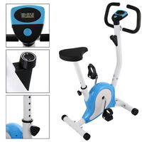 Upright Exercise Bike Magnetic Resistance Cardio Workout Stationary Cycle Indoor