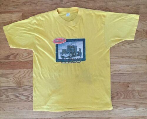 Vintage Peterbilt vintage t-shirt yellow XL Medall