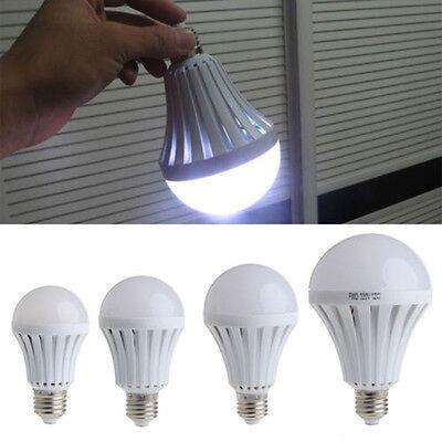 220V LED Emergency Light Bulb 5/7/9/12W Automatic Rechargeable E27 Lighting Lamp