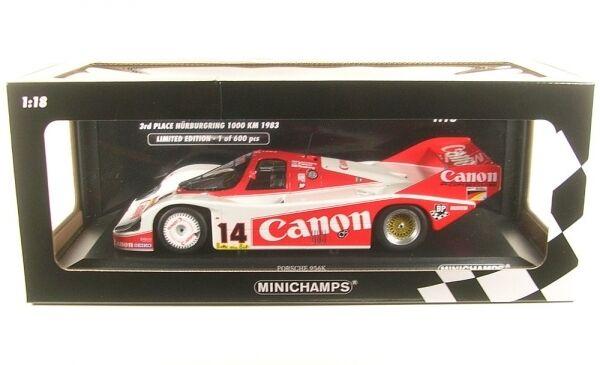 PORSCHE 956k No.14 3º 1000km NÜRBURGRING 1983 ( Keke Rosberg - Jan Lammers - JON