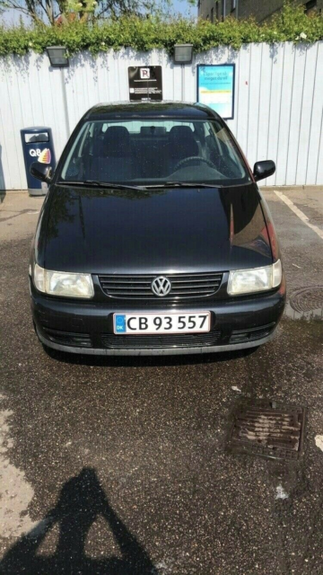 VW Polo, 1,6 16V, Benzin, 1996, sort, 3-dørs, 15