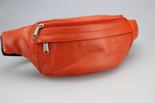 Bauchtasche in sommerlichen Farben Premium Leder-Gürteltasche von Manage