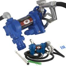 Fuel Transfer Pump 12 Volt 20 GPM Diesel Gas Gasoline Kerosene Car Tractor Truck