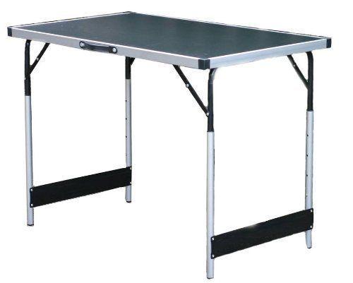 Aluminio Plegable Cámping Mesa de  comedor & preparación grandes ligero y resistente  almacén al por mayor