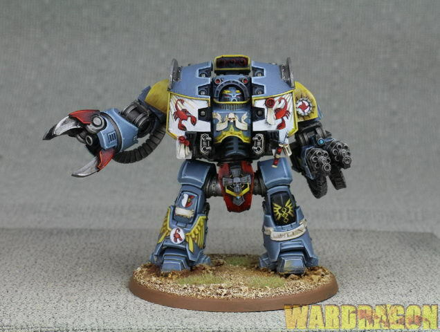 80mm ForgeWorld WDS painted Red scorpion Carab Culln the Risen d47