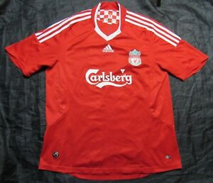c9a67c4b504 The Reds FC LIVERPOOL home jersey shirt ADIDAS 2006-2008 trikot ...