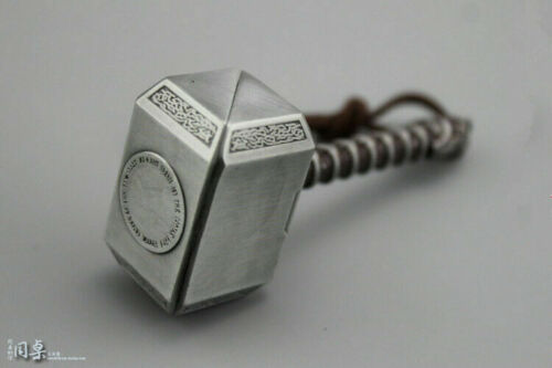 """1//6 Metal 8cm Thor hammer Weapon Props For 12/"""" Action Figure Accessories Model"""