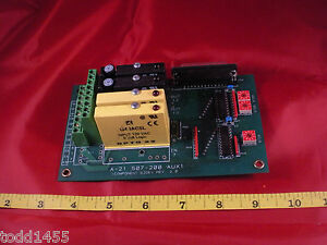 Sigma-A-21-507-200-AUX-1-Elevator-Meter-Circuit-Board-A21507200-Rev-2-0-New