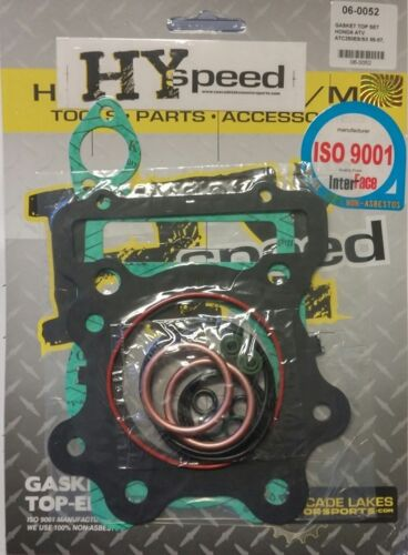 HYspeed Top End Head Gasket Kit Set Honda ATC250ES Big Red ATC250SX TRX250 85-87