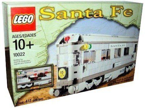 LEGO TRAIN  10022 SANTA FE TRAIN Cars Neuf Scellé
