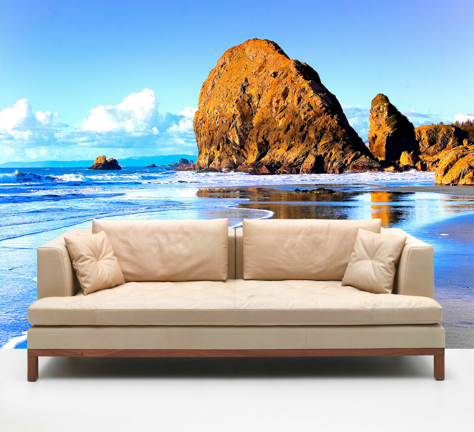 3D Reef sea sun 1 WallPaper Murals Wall Print Decal Wall Deco AJ WALLPAPER