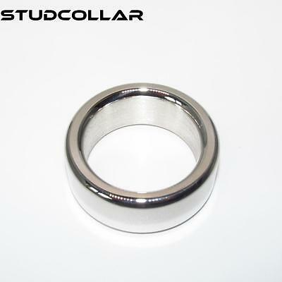 Strict Studcollar-ultrasmooth Stainless Steel Penis Ring Collar In Three Sizes Body Enhancing Devices