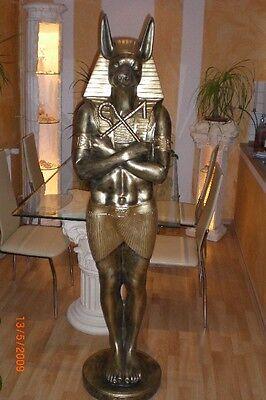 Anubis Gott der Toten Ägyptische Figuren Ramses Rar Echnaton Pharao Schakal