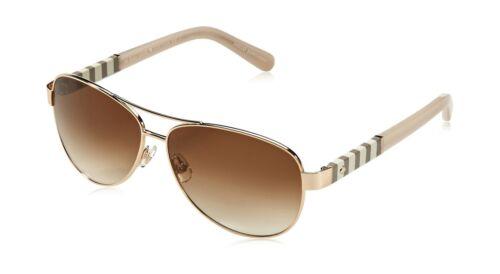 Kate Spade Women/'s Dalia Aviator Sunglasses Gold /& Brown Gradient