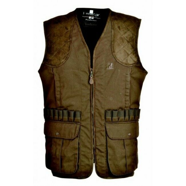 PERCUSSION TRADITION HUNTING VEST, GREEN 1215