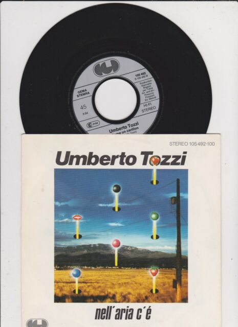"UMBERTO TOZZI Nell' aria c'e'  7 "" Single"