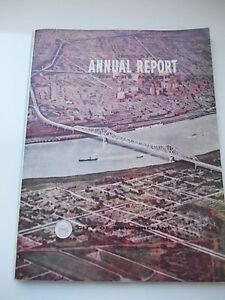 CITY-of-NEW-ORLEANS-LOUSIANA-state-1956-1957-ANNUAL-REPORT-Annuario-Originale