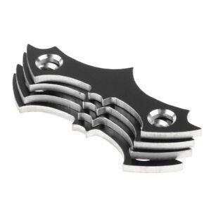 4pcs Skateboard Deck Gasket Anti-drop Bridge Nail Gasket Long Board Hardware